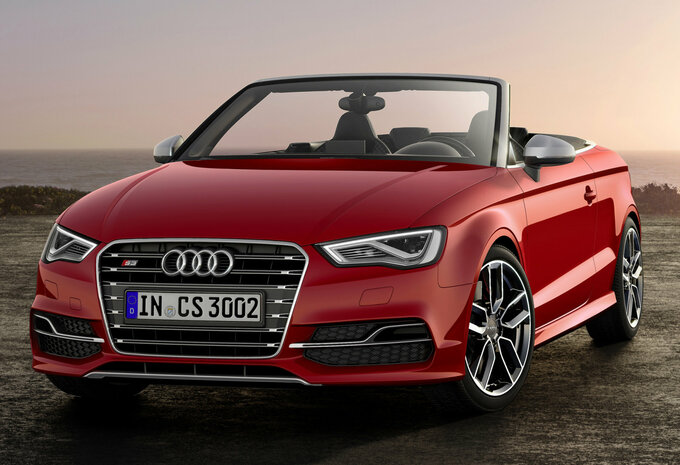 audi s3 cabriolet 2 0 tfsi 228kw s tronic quattro 2018 prix moniteur automobile. Black Bedroom Furniture Sets. Home Design Ideas