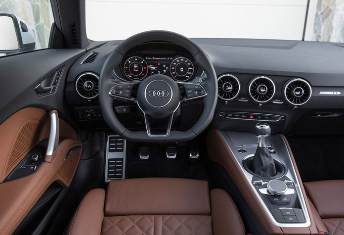 audi tt coup 45 tfsi s tronic quattro 2019 prix moniteur automobile. Black Bedroom Furniture Sets. Home Design Ideas