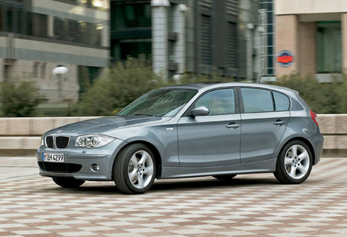 prijs bmw 1 reeks hatch 118d 2004 autogids. Black Bedroom Furniture Sets. Home Design Ideas