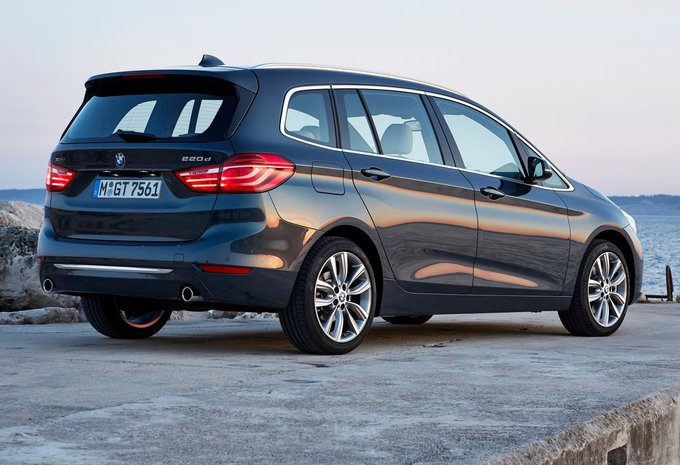 prijs bmw 2 reeks gran tourer 216d 85kw 2019 autogids. Black Bedroom Furniture Sets. Home Design Ideas