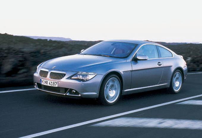 bmw s rie 6 coup 635d 2004 prix moniteur automobile. Black Bedroom Furniture Sets. Home Design Ideas