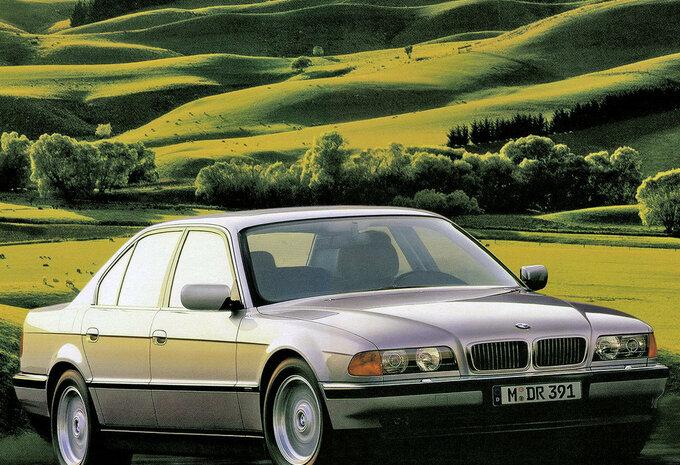 bmw s rie 7 berline 725tds 1994 prix moniteur automobile. Black Bedroom Furniture Sets. Home Design Ideas