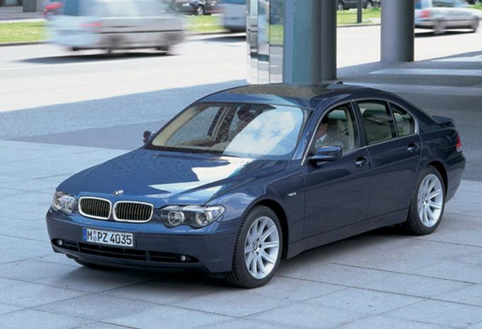 bmw s rie 7 berline 730d 160kw 2001 prix moniteur automobile. Black Bedroom Furniture Sets. Home Design Ideas