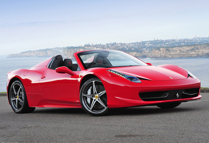 ferrari f 458 spider 458 spider 2011 prix moniteur automobile. Black Bedroom Furniture Sets. Home Design Ideas