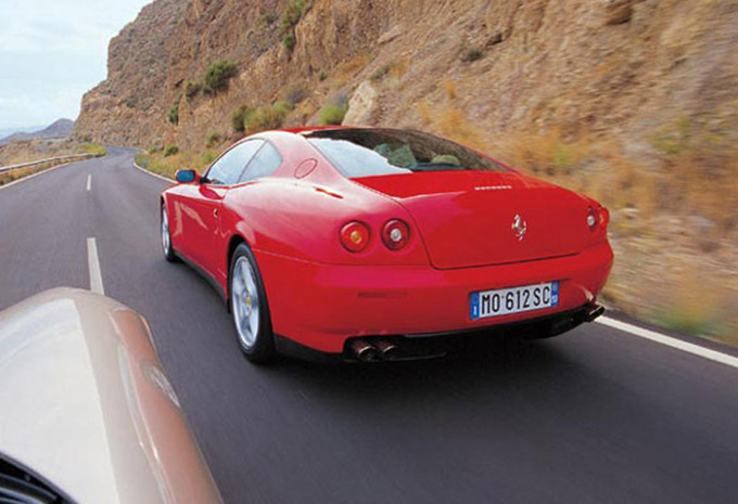 ferrari f 612 612 scaglietti 2004 prix moniteur automobile. Black Bedroom Furniture Sets. Home Design Ideas