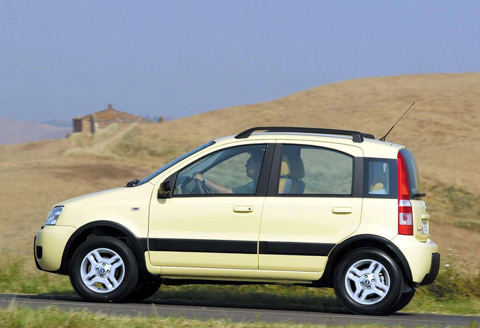 fiat panda cross 1 2 climbing 4x4 2003 prix moniteur automobile. Black Bedroom Furniture Sets. Home Design Ideas