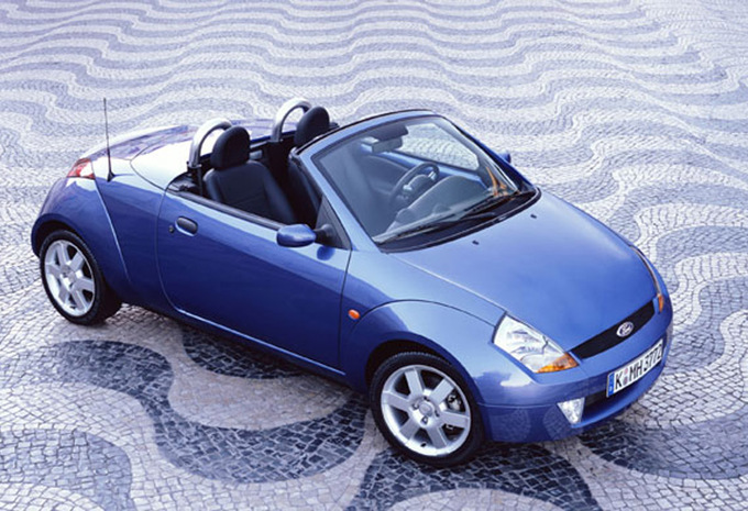 ford ka cabriolet 1 6 streetka 2003 prix moniteur. Black Bedroom Furniture Sets. Home Design Ideas