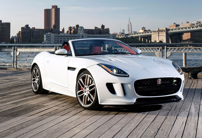jaguar f type cabriolet 3 0 v6 4x4 aut british design edition 2017 prix moniteur automobile. Black Bedroom Furniture Sets. Home Design Ideas