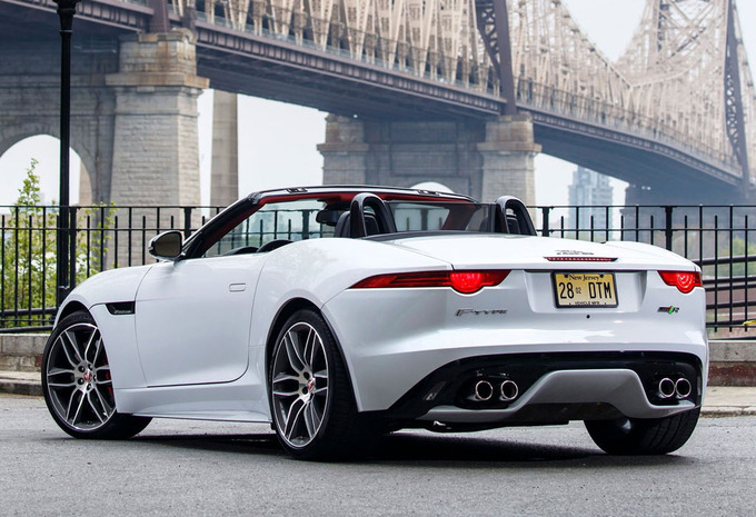 Jaguar f type cabriolet 3 0 v6 4x4 aut british design - Jaguar f type r coupe prix ...