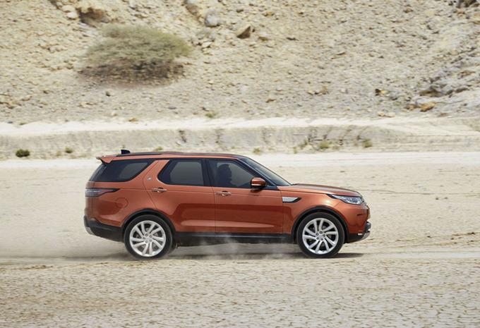 Saloncondities Land-Rover - Autosalon 2017 #1
