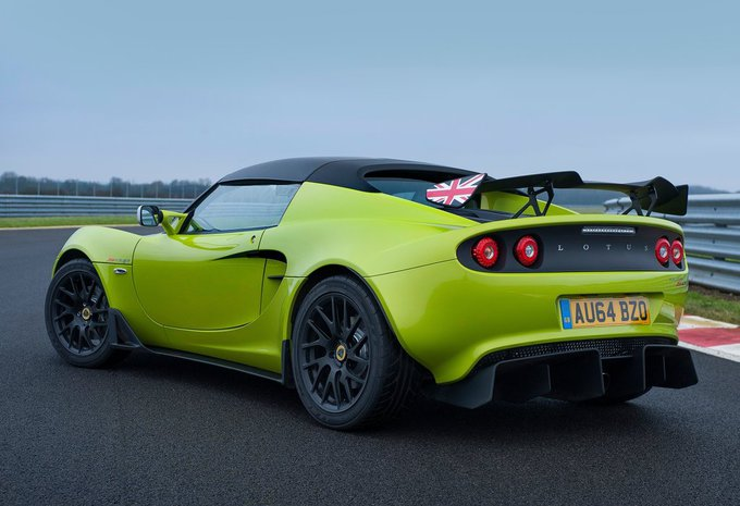 prijs lotus elise 1 8 250 special edition 2015 autogids. Black Bedroom Furniture Sets. Home Design Ideas