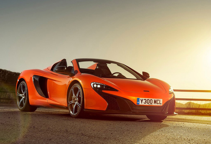 mclaren 650s spider 3 8 v8 spider 2016 prix moniteur automobile. Black Bedroom Furniture Sets. Home Design Ideas