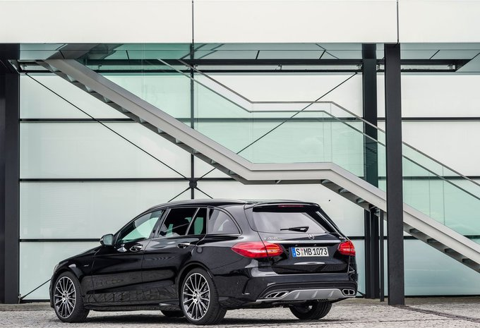 prijs mercedes benz c klasse break c 160 amg sport edition 2017 autowereld. Black Bedroom Furniture Sets. Home Design Ideas