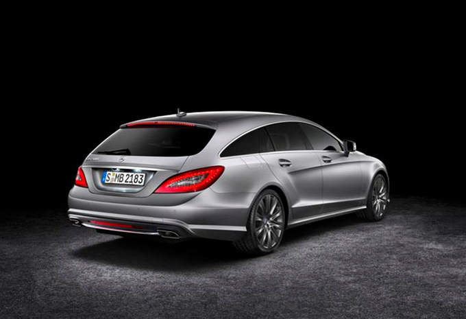 mercedes benz classe cls break 500 blueefficiency 4matic 2012 prix moniteur automobile. Black Bedroom Furniture Sets. Home Design Ideas