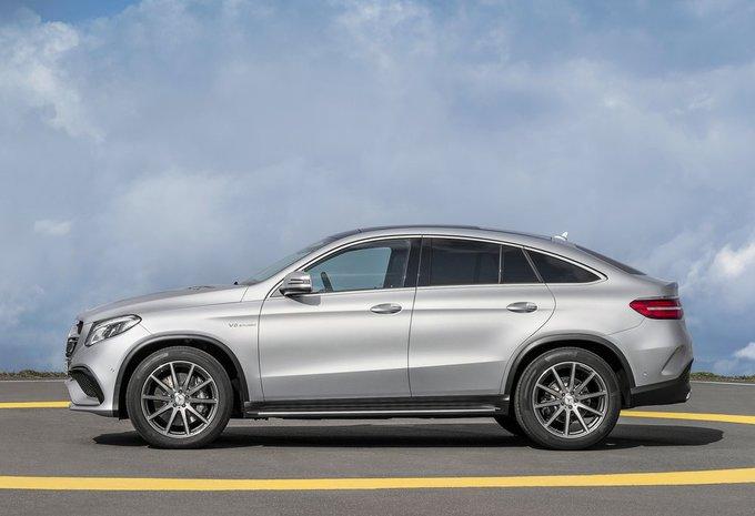 Mercedes Benz Classe Gle Coup 233 Gle 350 D 4matic 2018 Prix Moniteur Automobile