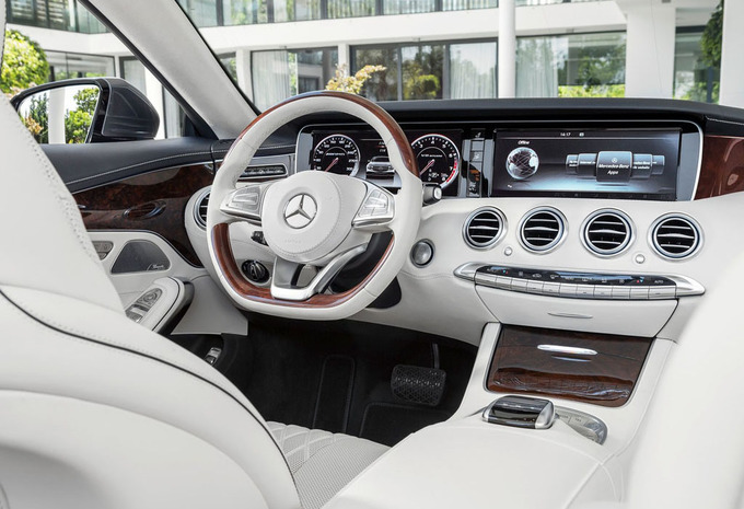 mercedes benz classe s cabriolet s 500 amg line 2016 prix moniteur automobile. Black Bedroom Furniture Sets. Home Design Ideas
