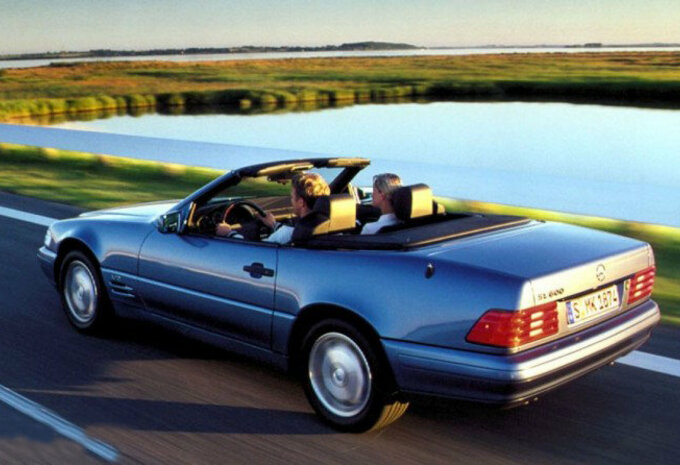 mercedes benz classe sl roadster sl 320 a 1989 prix moniteur automobile. Black Bedroom Furniture Sets. Home Design Ideas