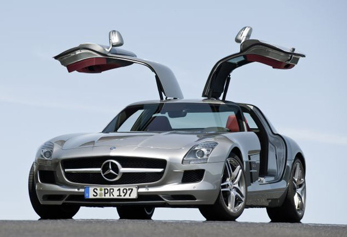 mercedes benz sls amg coup sls amg 2009 prix moniteur automobile. Black Bedroom Furniture Sets. Home Design Ideas