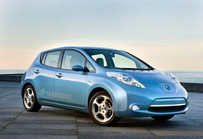prijs nissan leaf tekna 2011 autogids. Black Bedroom Furniture Sets. Home Design Ideas