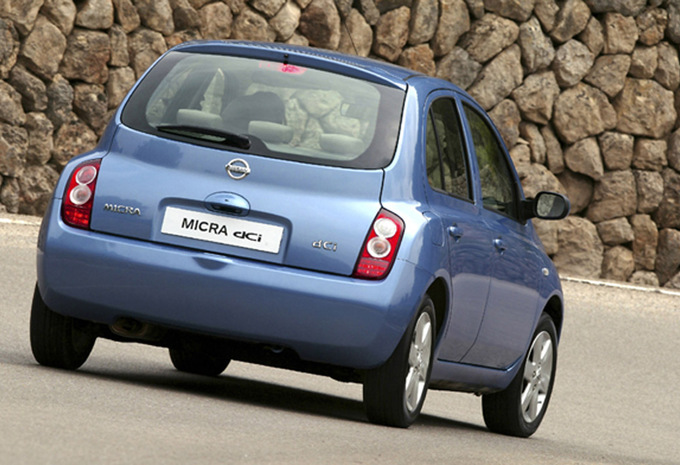 nissan micra 5p 1 5 dci 65 acenta 2003 prix moniteur automobile. Black Bedroom Furniture Sets. Home Design Ideas
