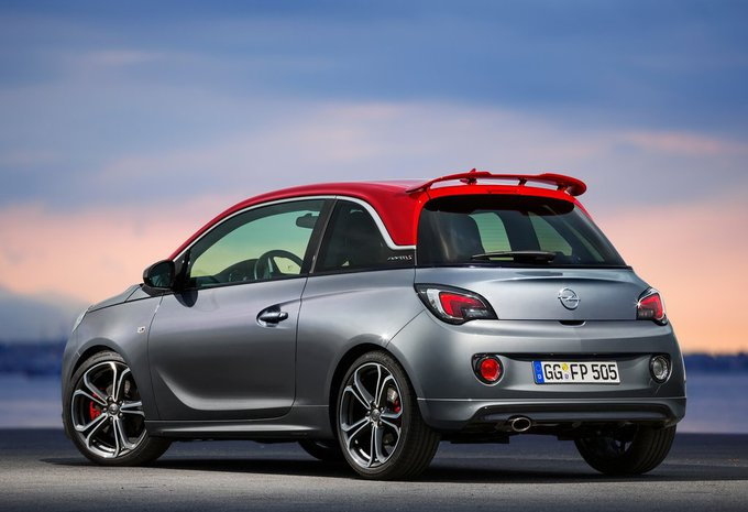 prijs opel adam 1 4 110kw turbo adam s 2019 autogids. Black Bedroom Furniture Sets. Home Design Ideas