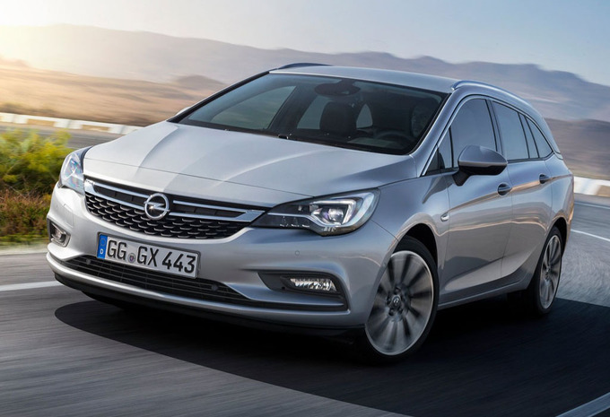 prijs opel astra sports tourer 1 6 cdti 100kw s s edition 2019 autogids. Black Bedroom Furniture Sets. Home Design Ideas