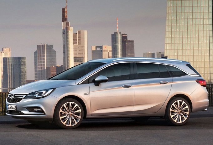 prijs opel astra sports tourer 1 4 turbo 92kw s s edition 2019 autogids. Black Bedroom Furniture Sets. Home Design Ideas