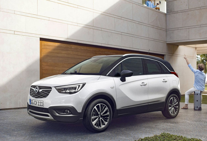 prijs opel crossland x 1 2 60kw innovation 2019 autowereld. Black Bedroom Furniture Sets. Home Design Ideas