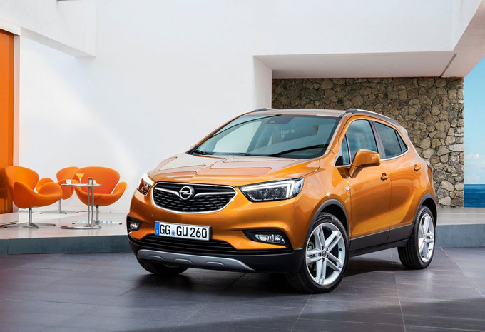 opel mokka x 1 6 cdti start stop edition 2018 prix moniteur automobile. Black Bedroom Furniture Sets. Home Design Ideas