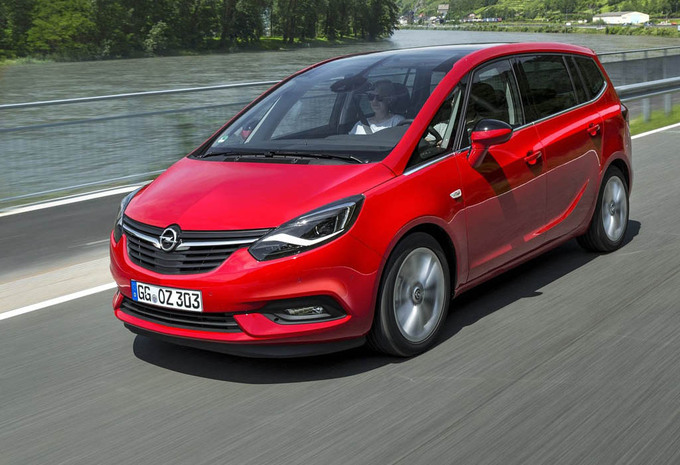 prijs opel zafira 1 4 turbo ecotec 103kw innovation 2018 autogids. Black Bedroom Furniture Sets. Home Design Ideas