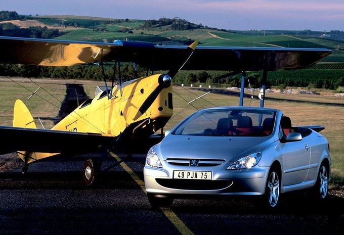 vergelijking peugeot 307 cc 2.0 hdi vs. renault mégane coupé