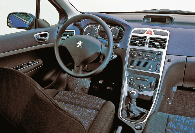 peugeot 307 5p 1 6 hdi 90 xs 2001 prix moniteur automobile. Black Bedroom Furniture Sets. Home Design Ideas