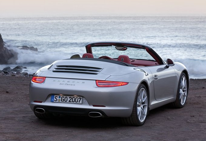 prijs porsche 911 cabrio carrera 4s cabriolet 2018. Black Bedroom Furniture Sets. Home Design Ideas