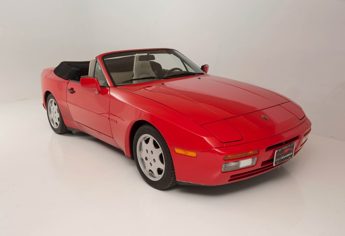 porsche 944 cabrio s2 1900 prix moniteur automobile. Black Bedroom Furniture Sets. Home Design Ideas