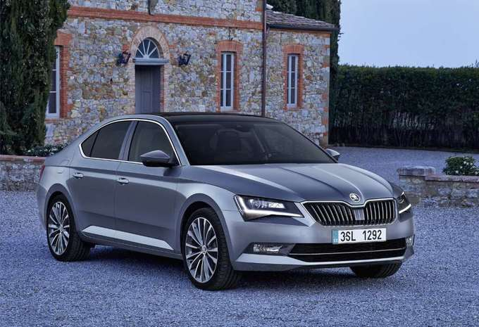 skoda superb 5p 2 0 crtdi 110kw style 2018 prix. Black Bedroom Furniture Sets. Home Design Ideas