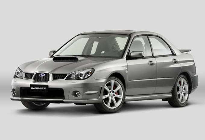 subaru impreza 4p 2 5 wrx sti 2005 prix moniteur. Black Bedroom Furniture Sets. Home Design Ideas