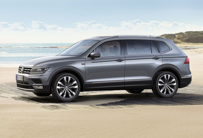 volkswagen tiguan allspace 2 0 tdi scr comfortline 2019 prix moniteur automobile. Black Bedroom Furniture Sets. Home Design Ideas