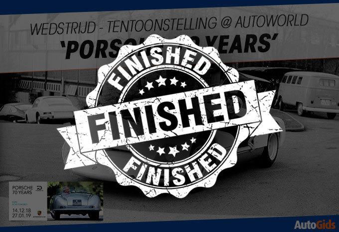 Tentoonstelling 'Porsche 70 Years' @ Autoworld #1