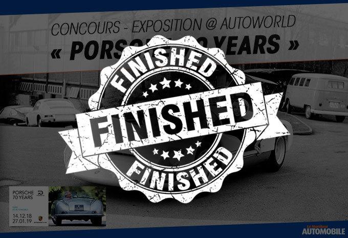 Exposition « Porsche 70 Years » @ Autoworld #1