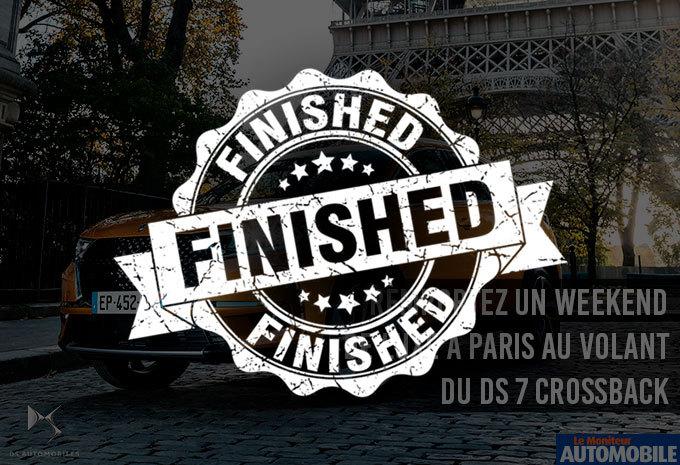 Remportez un week-end de luxe à Paris au volant du DS 7 CROSSBACK ! #1