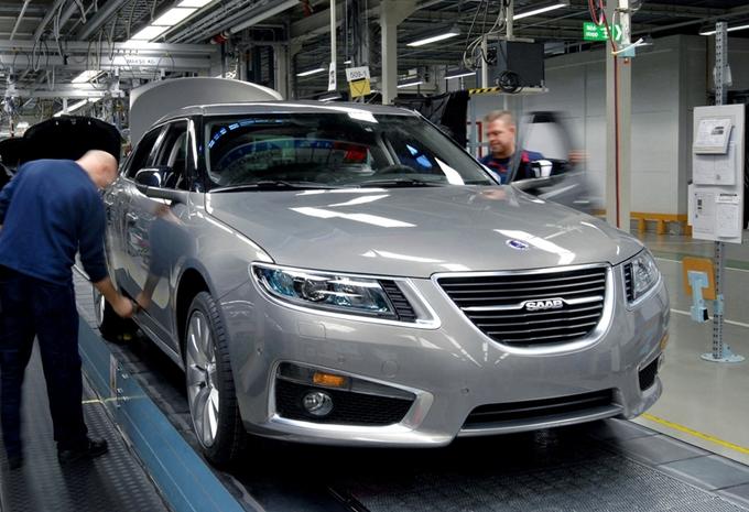 Productie Saab 9-5 weer opgestart #1