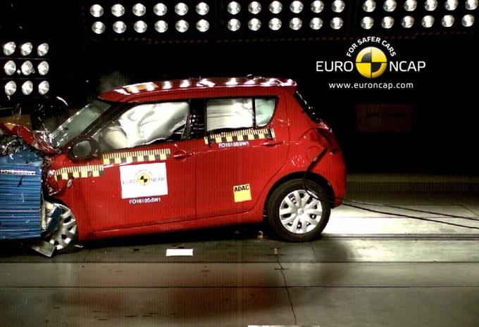 Sterrenregen bij EuroNCAP #1