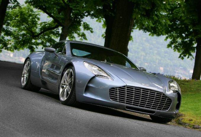 Aston Martin One-77 à plus de 750 ch #1