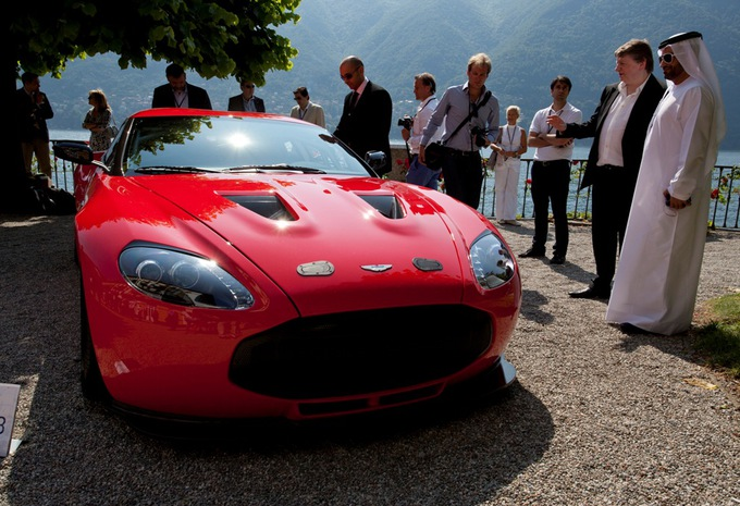 Aston Martin V12 Zagato en production #1