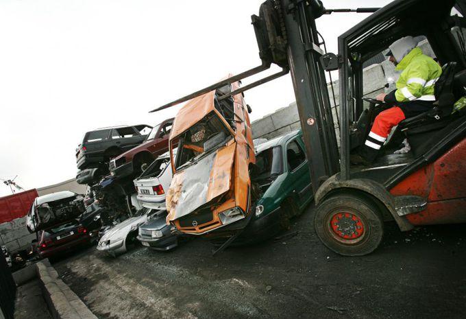 La Belgique au top du recyclage automobile #1