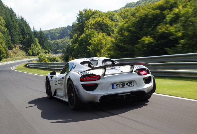 """Porsche 918 Spyder doet de Nürburgring in 7'14"""" #3"""