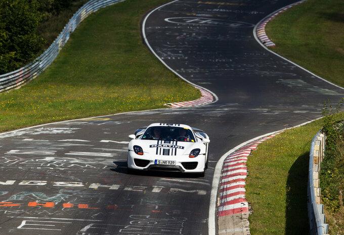 """Porsche 918 Spyder doet de Nürburgring in 7'14"""" #4"""