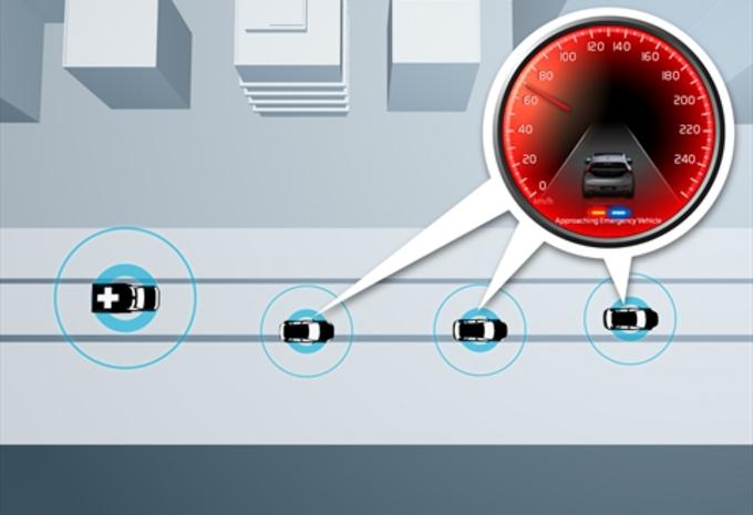 Volvo werkt aan communicerende auto's #1