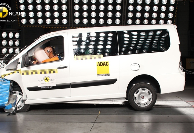 EuroNCAP teste les vans #2