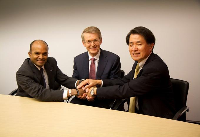 Samenwerking tussen Daimler, Ford en Renault-Nissan #1